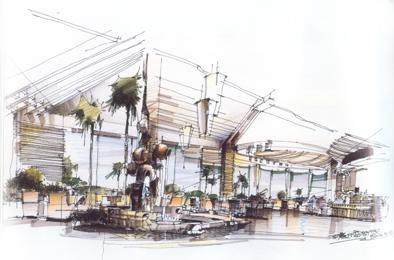 珠海室内设计高级手绘培训